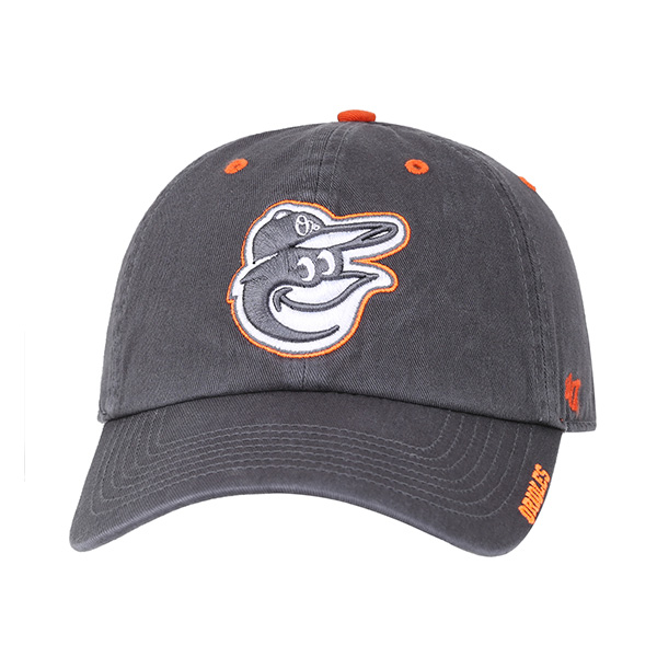 47 [BALTIMORE ORIOLES] WASHED CAP 405 (GY)