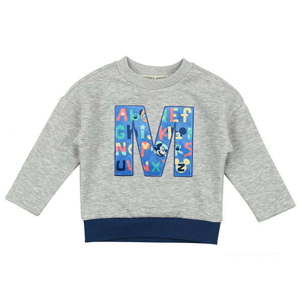 MICKEY MOUSE KIDS LONG SLEEVES 916 (GY) -키즈