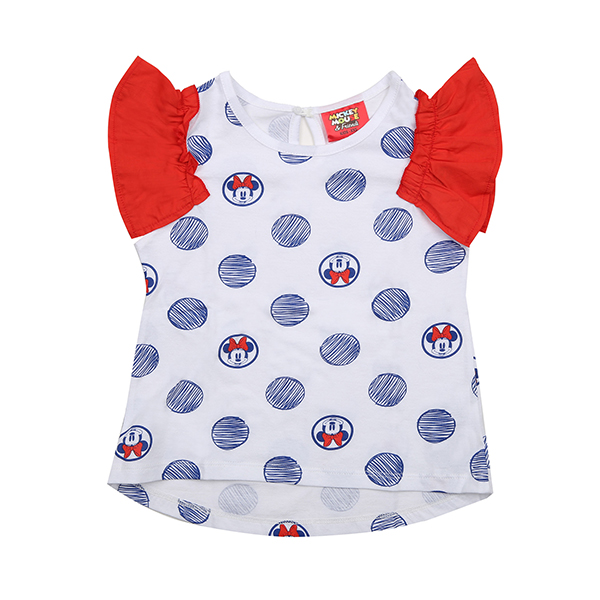 MICKEY MOUSE KIDS SHORT SLEEVES 509 (WH) -키즈