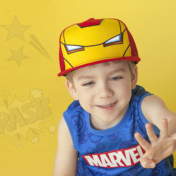 MARVEL KIDS TRUCKER CAP 501 (RE) -키즈