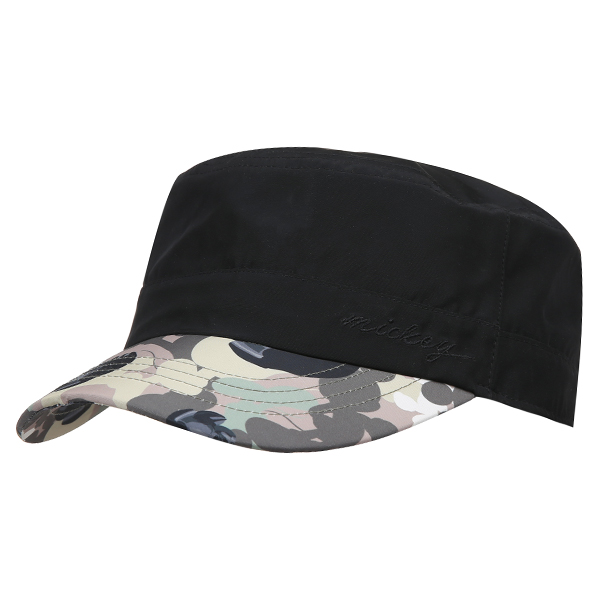 MICKEY MOUSE MILITARY CAP 007 (BK)