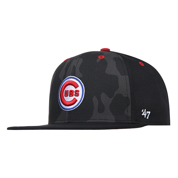 47 [CHICAGO CUBS COOPERSTOWN] SNAPBACK 614 (BK) -키즈
