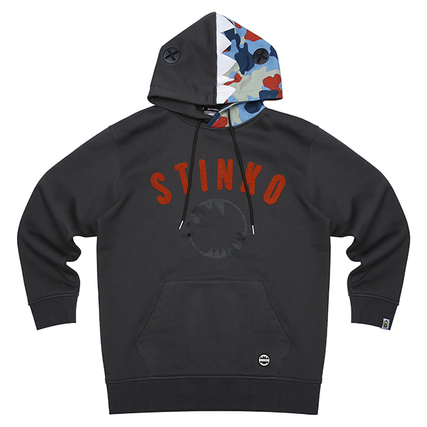 ELSTINKO HOODED T-Shirts 141 (BK)