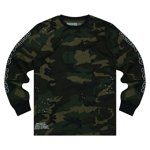 CIVIL LONG SLEEVE T-SHITRS 101 (KH)