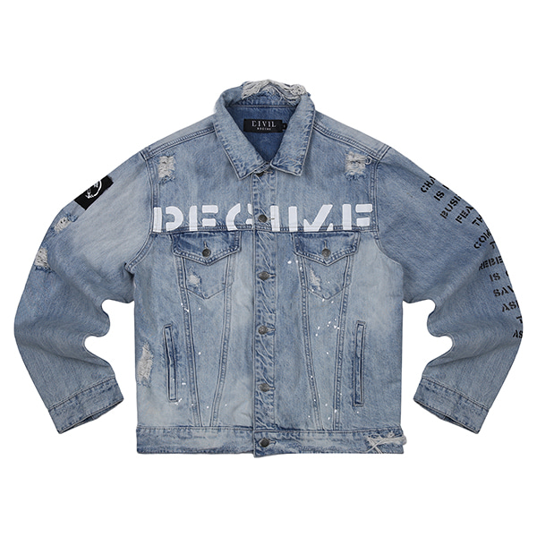 CIVIL DENIM JACKET 103 (BL)