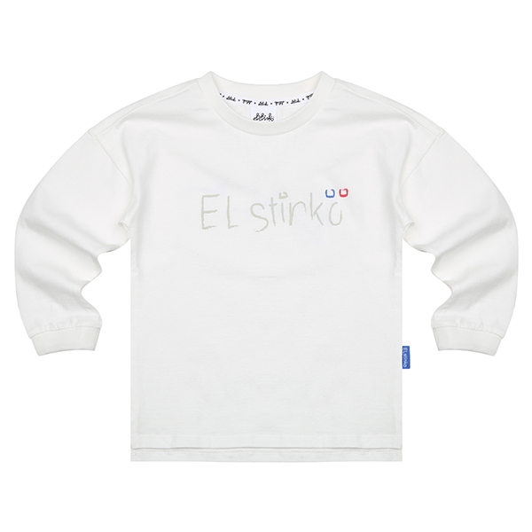 ELSTINKO KIDS LONG SLEEVES 706 (WH) -키즈