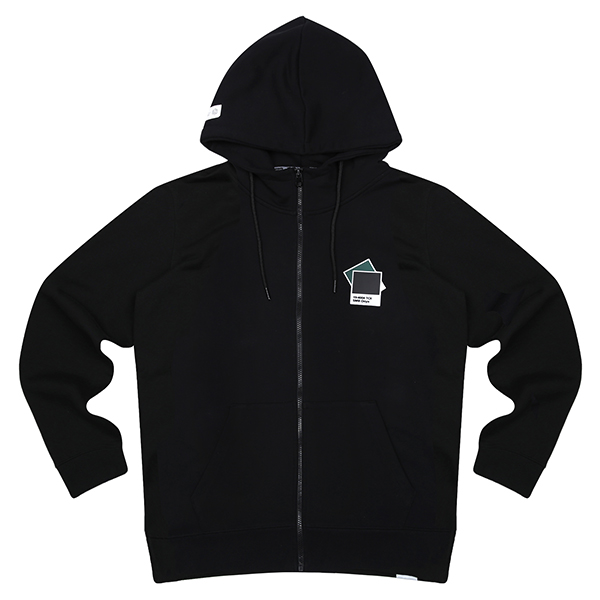 SMB HOODED JUMPER 203 (BK)