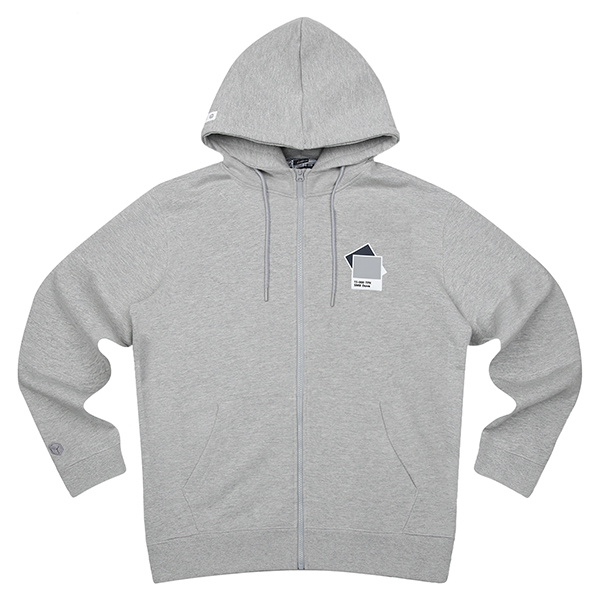SMB HOODED JUMPER 203 (GY)