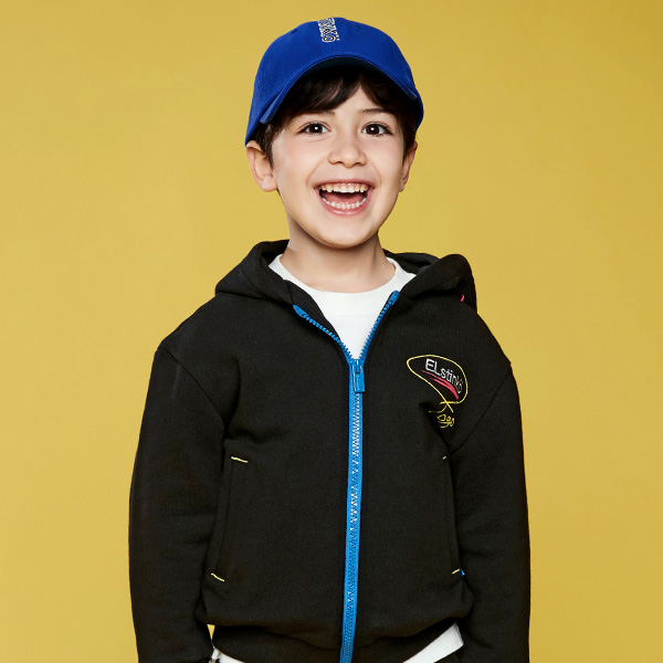 ELSTINKO KIDS HOODED JUMPER 701 (BK) -키즈