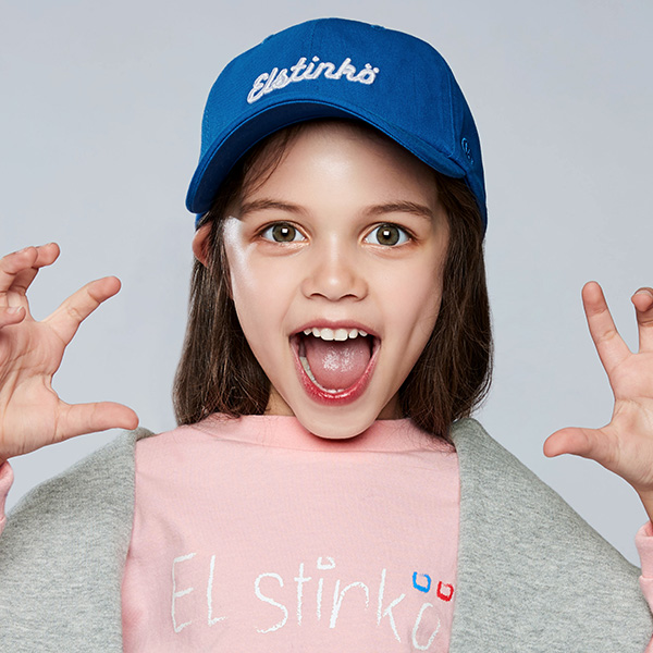 ELSTINKO KIDS WASHED CAP 707 (BL) -키즈