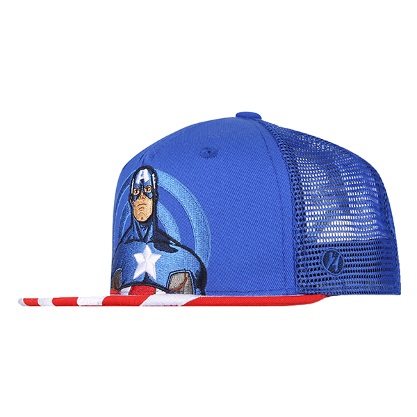 MARVEL KIDS TRUCKER CAP 706 (BL) -키즈