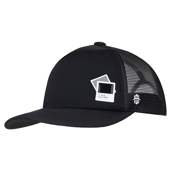 [SHORT FIT]SMB TRUCKER CAP 280 (BK)
