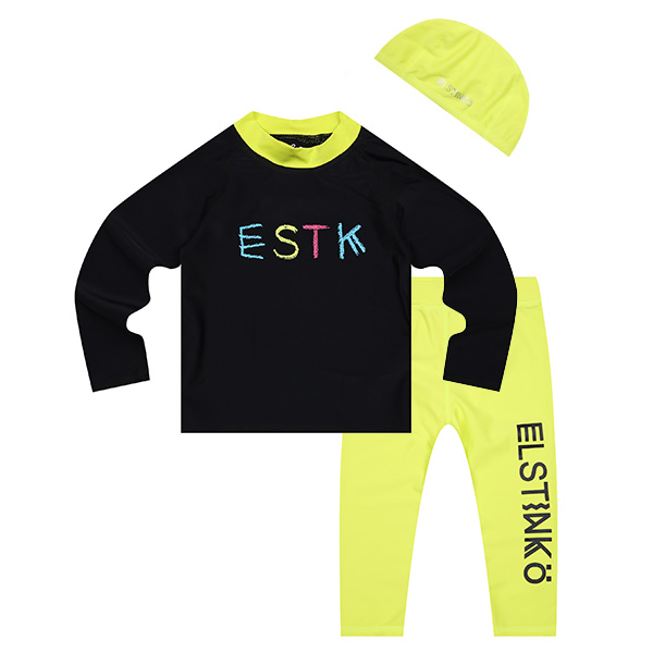ELSTINKO SWIMSUIT 707 (BK) -KIDS
