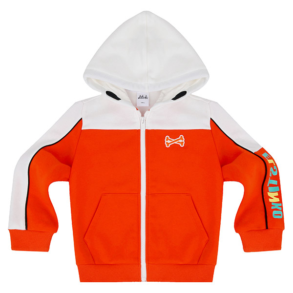 ELSTINKO HOODED JUMPER 901 (OR) -KIDS
