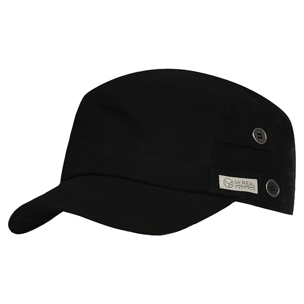 MR.REAL GOOD MAN MILITARY CAP 410 (BK)